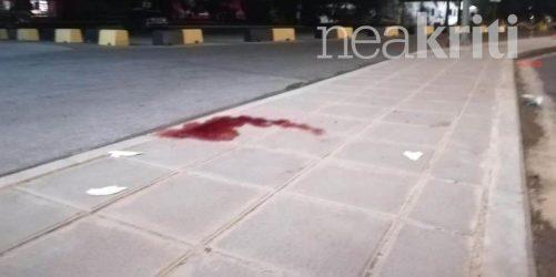 Αγρια δολοφονία στη μέση του δρόμου στο Ηράκλειο