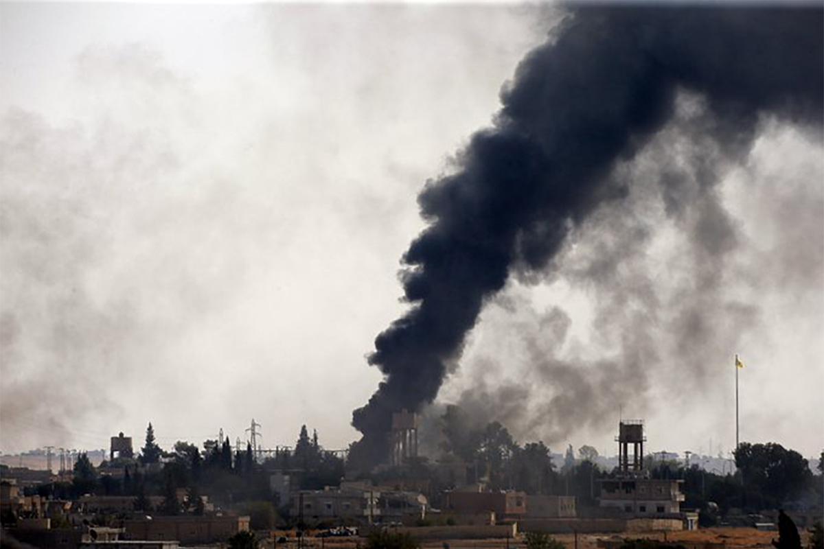 Συρία Τουρκία επίθεση