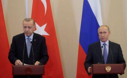Επικοινωνία Πούτιν-Ερντογάν για την κατάσταση στο Ναγκόρνο Καραμπάχ
