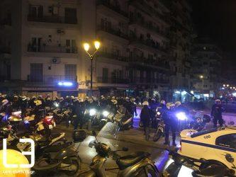 Θεσσαλονίκη: Προσαγωγές ατόμων στη Ναυαρίνου (ΦΩΤΟ)