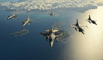 Νέες εικονικές αερομαχίες με οπλισμένα τουρκικά στο Αιγαίο