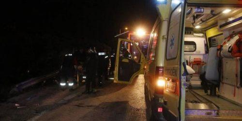 Χαλκιδική: Τροχαίο με 3 τραυματίες στην Εθνική Οδό Θεσσαλονίκης – Μουδανιών