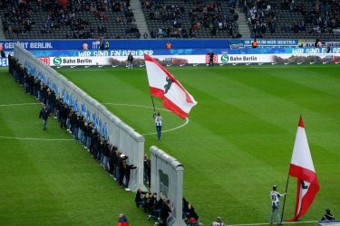 Η Χέρτα Βερολίνου τίμησε την πτώση του τείχους με πολύ εντυπωσιακό τρόπο
