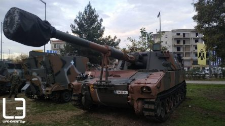agia varvara pyrovoliko ελληνικός στρατός
