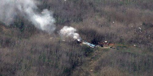 Ανασύρθηκαν τρεις σοροί από το ελικόπτερο του Μπράιαντ
