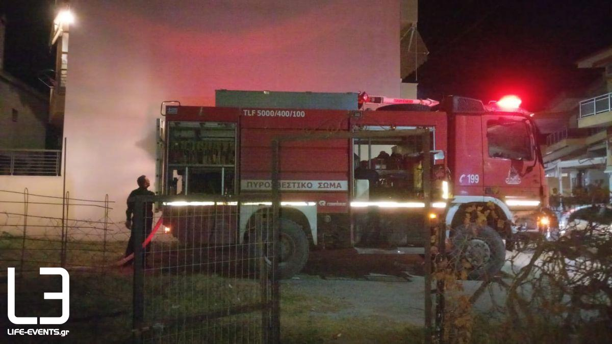 Εξοχή αποθήκη φωτιά Πυρκαγιάς νεκρός Θεσσαλονίκη