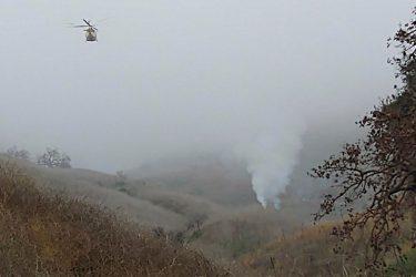 Οι πρώτες εικόνες από το σημείο της πτώσης του ελικοπτέρου του Κόμπι Μπράϊαντ (ΒΙΝΤΕΟ & ΦΩΤΟ)