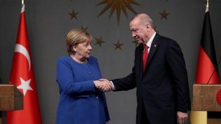 Μέρκελ Τουρκία Ερντογάν