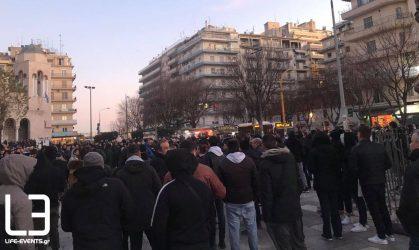ΤΩΡΑ: Συγκεντρώνονται οι ΠΑΟΚτσήδες στην Καμάρα για το συλλαλητήριο! (ΦΩΤΟ)