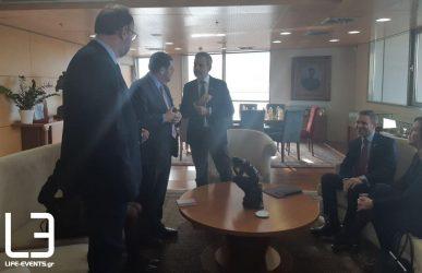 Θεσσαλονίκη και ΗΠΑ έρχονται πιο κοντά – Συνάντηση Ζέρβα με τον Αμερικανό επιτετραμμένο