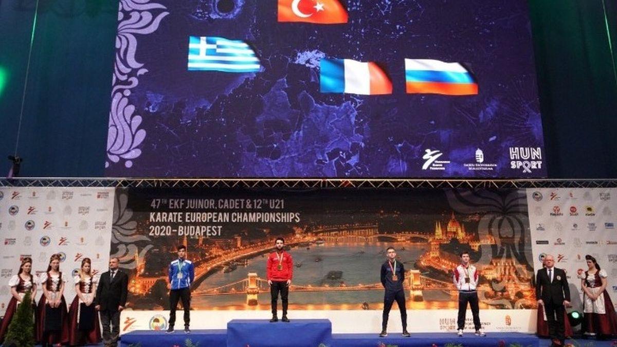Τρια μετάλλια η «γαλανόλευκη» στο ευρωπαϊκό νέων στο καράτε