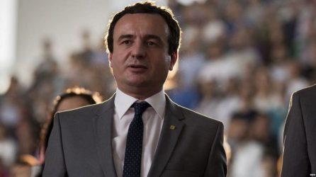 Κυβέρνηση συνασπισμού με πρωθυπουργό τον Αλμπιν Κούρτι στο Κόσοβο
