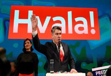 Ο Ζόραν Μιλάνοβιτς ορκίστηκε πρόεδρος της Κροατίας