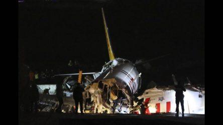 Ενας νεκρός από την συντριβή του αεροσκάφους στην Τουρκία