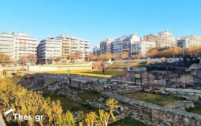 Ρωμαϊκή Αγορά: Μνημείο ανεκτίμητης αξίας στην «καρδιά» της Θεσσαλονίκης (ΦΩΤΟ)