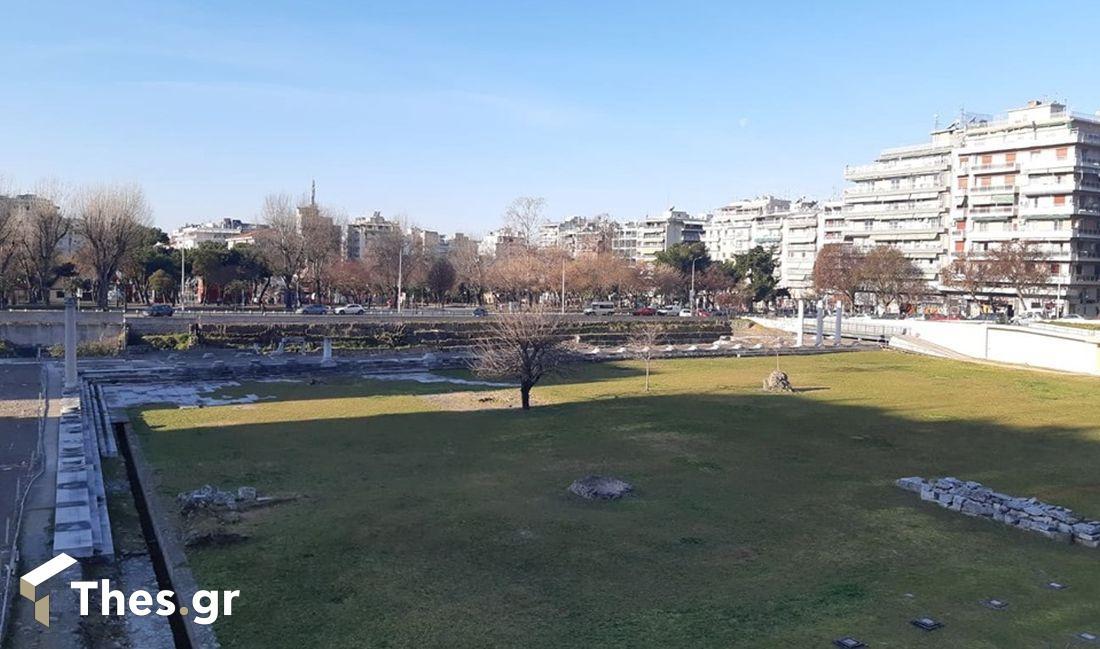 rwmaiki agora ρωμαϊκή αγορά θεσσαλονίκης