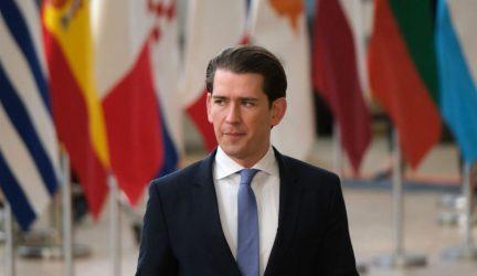 Για «προοπτική κυρώσεων κατά της Τουρκίας» μιλά ο Κουρτς