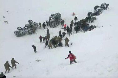 Στους 34 οι νεκροί από χιονοστιβάδες στην Τουρκία
