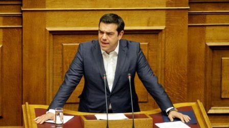 """Τσίπρας: """"Ο κ. Μητσοτάκης ψωνίζει φρεγάτες σαν να ψωνίζει γραβάτες"""""""