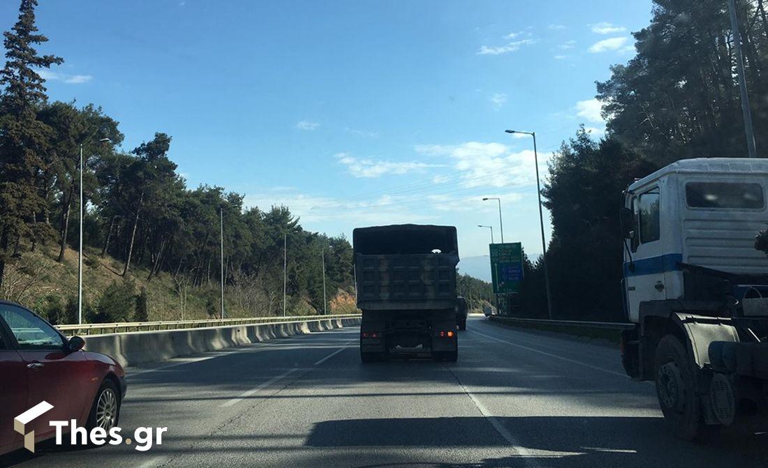 φορτηγά στρατός Εγνατία Οδός