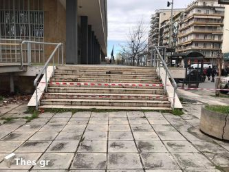 Θεσσαλονίκη Δικαστήρια βόμβα