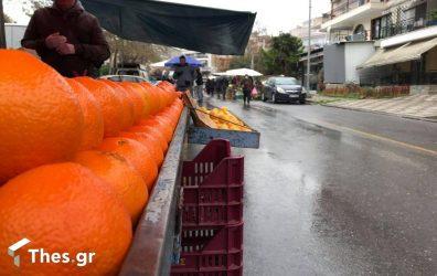 Θεσσαλονίκη λαϊκή αγορά