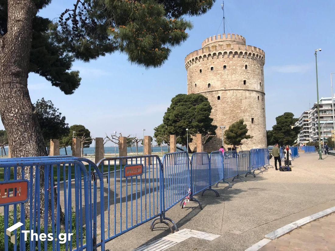 Θεσσαλονίκη παραλία Νέα παραλία καιρός
