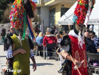 Μικρή η προσέλευση για τους Κουδουνοφόρους στο Σοχό (ΒΙΝΤΕΟ & ΦΩΤΟ)