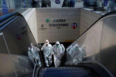 Τουρκία: 9 οι νεκροί από τον κορονοϊό