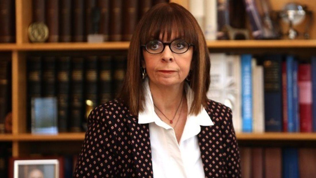 Στην Κύπρο η Κατερίνα Σακελλαροπούλου – Συνάντηση με τον Αναστασιάδη