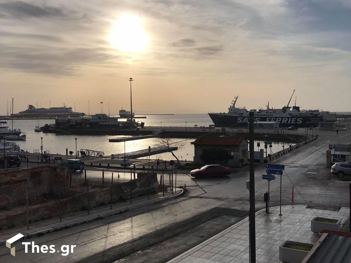 λιμάνια Φάρος Αλεξανδρούπολης Αλεξανδρούπολη Καβάλα