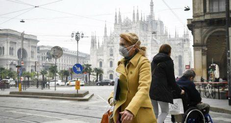 Ιταλία: Ρεκόρ 5ετίας στους θανάτους ελέω κορονοϊού