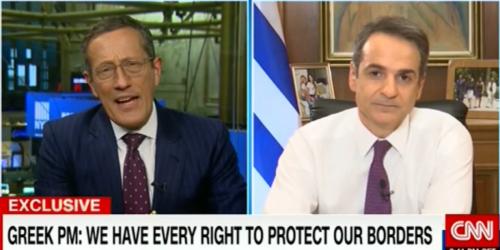 Κ. Μητσοτάκης σε CNN: «Ο Ερντογάν να σταματήσει να είναι ο διοργανωτής Fake News»