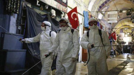 Τουρκία: Στους 2.805 οι νεκροί από τον κορονοϊό