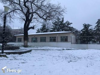 χιόνι Θεσσαλονίκη χιόνια καιρός