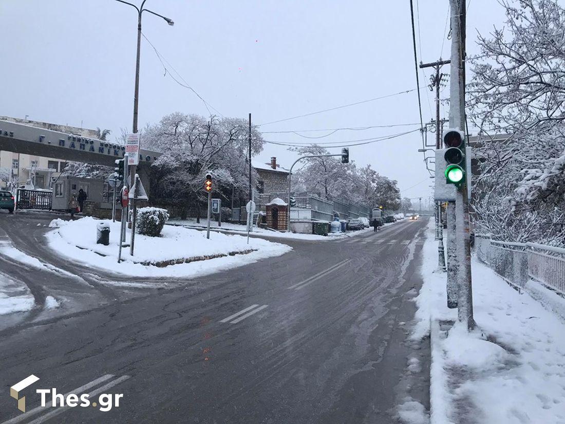 χιόνι χιόνια χιονιά Θεσσαλονίκη χιόνια Μακεδονία