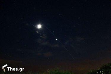 Starlink δορυφόρος δορυφόροι Θεσσαλονίκη