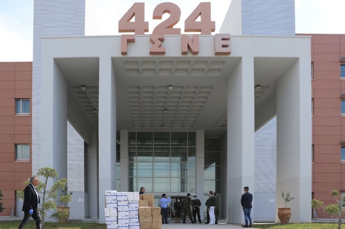 424 στρατιωτικό νοσοκομείο κορονοϊός Θεσσαλονίκη
