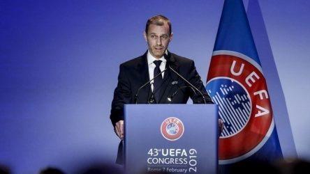 """Τσέφεριν: """"Το ποδόσφαιρο δεν μπορεί να επιτρέψει να χρησιμοποιηθεί για πολιτικούς σκοπούς"""""""