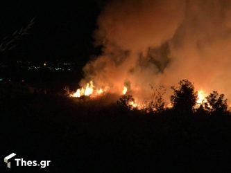Θεσσαλονίκη: Φωτιά στο στρατόπεδο Καρατάσιου (ΒΙΝΤΕΟ)