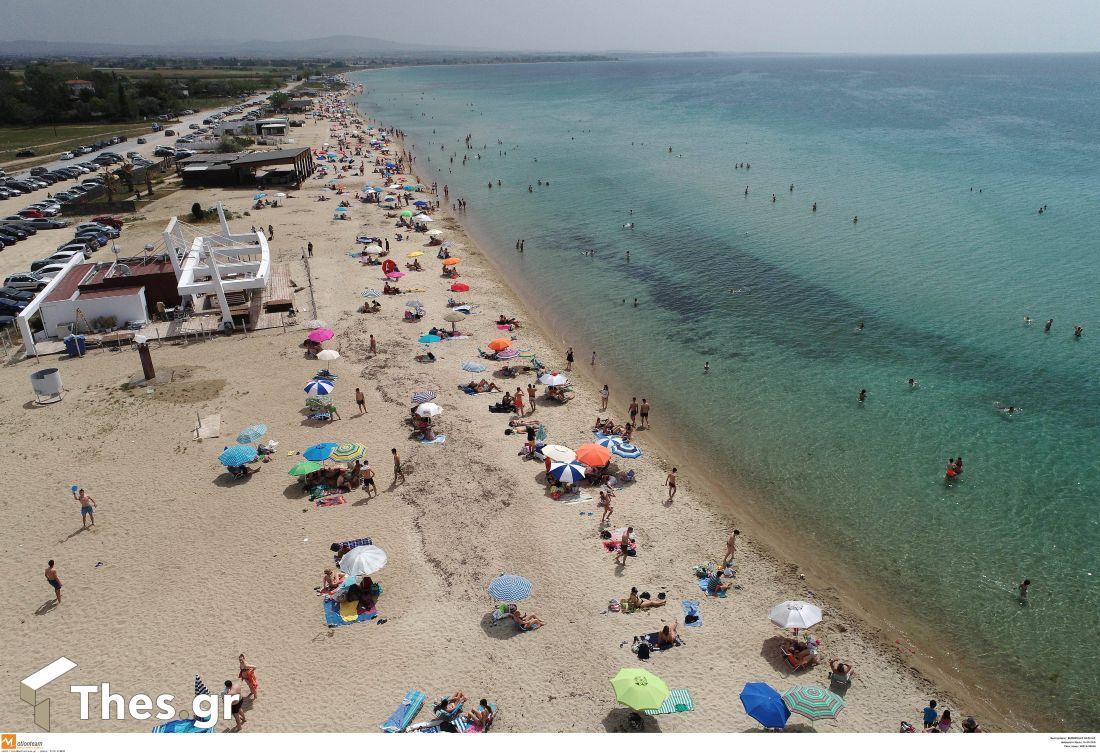 Ποταμός Θεσσαλονίκη Επανομή Επανομής παραλία
