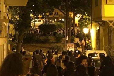 Θεσσαλονίκη: Ενταση κατά την εκκένωση συγκεντρωμένων από τα ΜΑΤ (ΒΙΝΤΕΟ & ΦΩΤΟ)