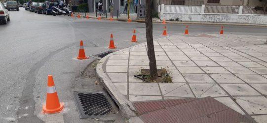 Επεκτείνονται τα πεζοδρόμια στο Δήμο Κορδελιού – Ευόσμου (ΦΩΤΟ)