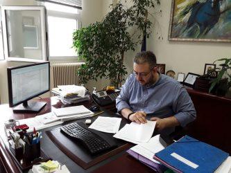 Υπογράφηκε η σύμβαση για τη βελτίωση αγροτικής οδού της Λητής