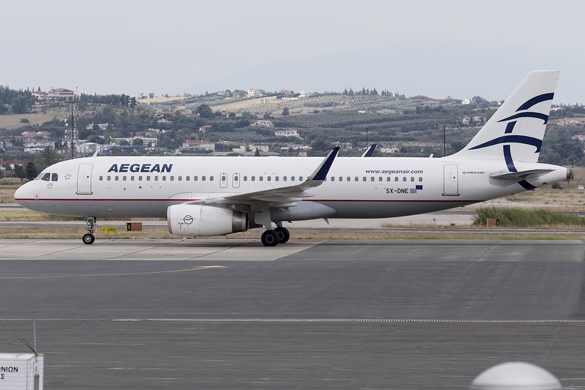 Aegean πτήσεις Θεσσαλονίκη Γερμανία