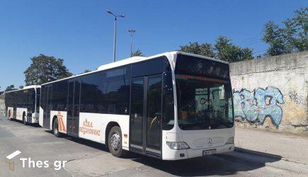 ΚΤΕΛ Θεσσαλονίκης: Το πρώτο λεωφορείο με απολυμαντή Covid