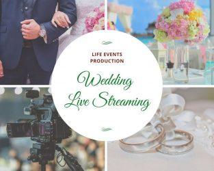 Γάμος γάμος βάπτιση Βάπτιση Live Streaming Life Events Production
