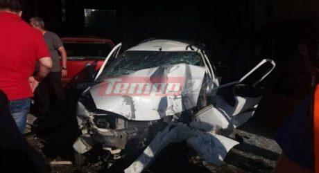 """Ηλικιωμένος """"καρφώθηκε"""" σε συνεργείο αυτοκινήτων με το αμάξι του και έχασε τη ζωή του"""