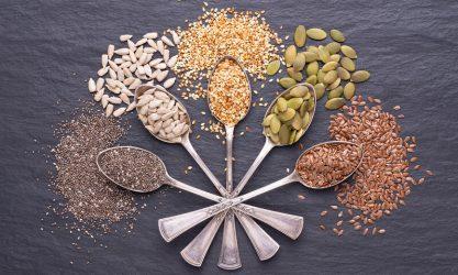 Πέντε σπόροι που πρέπει να βάλουμε στη διατροφή μας!