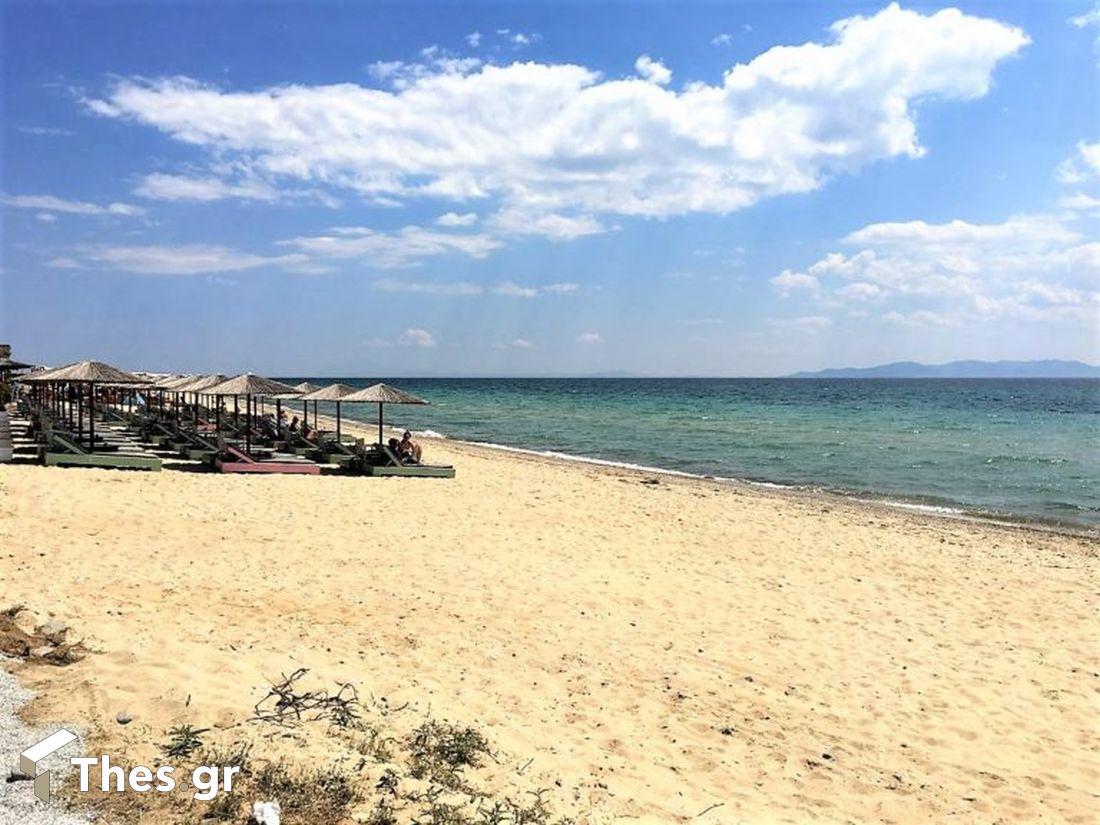 παραλίες παραλία Βορείου Ελλάδος Τούζλα Καβάλα καλοκαίρι